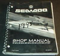 1995 SEA-DOO  PERSONAL WATERCRAFT SHOP SERVICE MANUAL 219 100 013  (519)