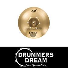 """Sabian 216XISOCB AAX 16"""" ISO Crash BR Cymbal 2018 SAVE $90 off RRP$449"""