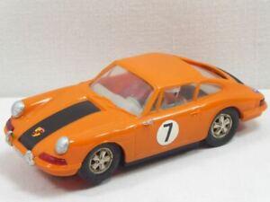 Carrera Universal 132 Porsche 911 orange m. schw. Streifen Nr.40415 TOP! (F6926)