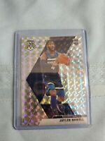JAYLEN NOWELL 2019-20 Panini Mosaic SILVER PRIZM RC Rookie SP #212 Timberwolves