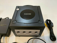 Nintendo Gamecube (BLACK) System Console with OEM Controller, Tested & Clean!