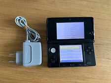 Console Nintendo 3ds Noir cosmos Avec Chargeur Officiel (3d bloquée)