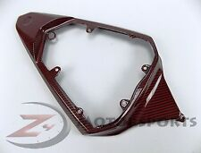 DEFECT 2008-2016 R6 Rear Upper Seat Tail Panel Fairing Cowl Carbon Fiber Red