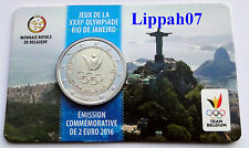België speciale 2 euro 2016 Olympische Spelen Rio in Coincard Waals