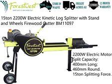 15Ton Log Splitter Kinetic Log Splitter Firewood Cutter Tested with Hardwood