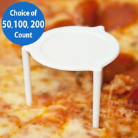 Pizza Stands Extra Heavy Duty White Round Disposable Plastic Savers/Tripods/Stax