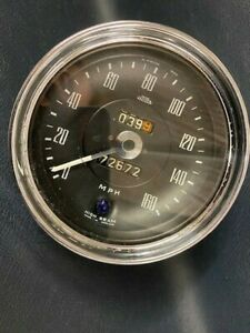 Jensen Interceptor FF used original speedometer