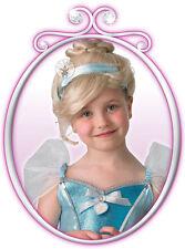Parrucca Cenerentola Disney Bambine Bambini Favola Princess Fancy Dress Costume 52738