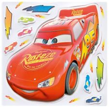 20 X Disney Pixar Cars Glow in the Dark Wall Stickers with Lightning McQueen