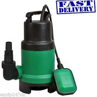 Kingfisher 400w  Submersible Dirty Water Pump Drains 10000 Litres Per Hour