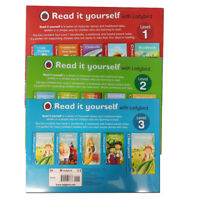 Read it yourself with Ladybird Level 1 to 3 Collection 15 Books Set Pack NEW