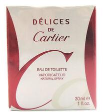 (GRUNDPREIS 333,00€/100ML) CARTIER DELICES DE CARTIER 30ML EAU DE TOILETTE SPRAY