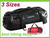 Caribee Expedition Waterproof Roll Top Gear Bag 4WD Wet Dry Duffel Backpack 3 SZ