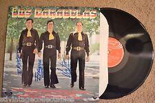 LOS CARABELAS autograph signed Spain Espańol RECORD LP VG+