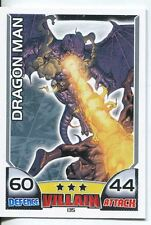 Marvel Hero Attax Series 1 Base Card #135 Dragon Man