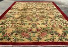 Distressed Hand Knotted Vintage Qaisery Wool Area Rug 8 x 7 FT (908 HMN)