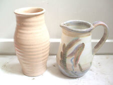 Vases British Denby, Langley & Lovatt Pottery