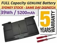 New Battery A1495 For Apple Macbook Air 11'' A1465 2012-2015 Tools AUSSIE