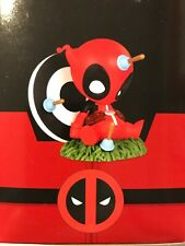 MINI HEROES ANIMATED DEADPOOL PVC STATUE SKOTTIE YOUNG GENTLE GIANT-NEW-SEALED