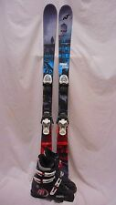 Used JR Nordica Ace Twin Tip Ski 138cm with Tecnica RJ 25.5 Blk/Red Ski Boots