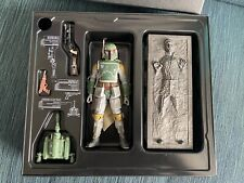 Star Wars black series Sdcc Boba Fett And Han Solo In Carbonite six inch 2013