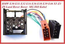 ISO DIN Kabel BMW E30 E36 E46 E34 E39 E32 E38 E31 X5 Stecker AutoRadio