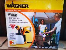 Wagner Feinsprühsystem W 550 Quick & Easy, NEU, OVP, Unbenutzt!