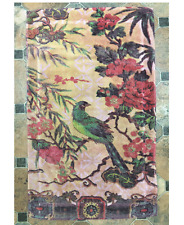 Fresco Towels Tropical Peacock Blush Large Bathmat By Artistico Towels