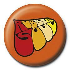 The Beatles Rubber Soul Logo 25mm Button Pin Badge Official McCartney Lennon Ret