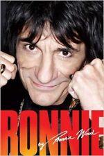 Ronnie by Ronnie Wood - HC w/DJ 1st PRINT 2007 - Rolling Stones
