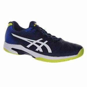 Asics Solution Speed FF Clay Men's Tennis Shoes Blue/White Size 7.5/UK 40.5 EUR
