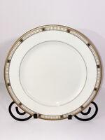 """Gorham Fine China Kensington Dinner Plate Hand Banded 24 KT Gold Japan 10.75""""Dia"""