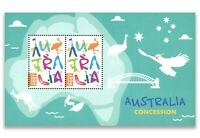 Australia 2017 Concession Post Stamp Miniature Sheet MUH Exclusive to Year Book