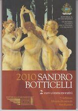 San Marino 2 euros 2010 - Sandro Botticelli OVP en la carpeta
