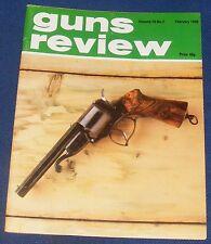 """GUNS REVIEW MAGAZINE FEBRUARY 1980 - THE """"COLT 1851"""" REVOLVING SHOTGUN"""