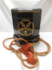 Antique Japanese HOKKAI-BAKO Bento Box Food Service Lacquerware Circa 1890