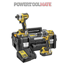 Dewalt DCK266P2T Combi Drill and Impact Driver Kit with 2 x 5.0Ah Batteries Twin