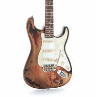 Heavy Relic Electric Guitar Nitro Finish Aged Hardware Tremolo Bridge Alder Body