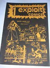 EXPLOIT COMICS  N° 1 ( SECRET AGENT X-9 / WASH TUBBS / JOE PALOOKA / .... ) 1977