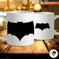 Batman 2018 crest coffee tea mug cup gift birthday anniversary present I