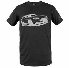 Official V8 Aston Martin Classic Genuine Car Tee T Shirt Black NEW GIFT