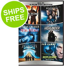 Universal Soldier, Ender's Game, Total Recall, Highlander, Stargate, Replicant