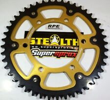 Supersprox Stealth sprocket, 530x42 for Suzuki GSXR1000 2011-16 Gold