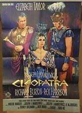 CLEOPATRA | DIN A1 | Original Filmplakakat EA 1963 | Elizabeth Taylor