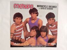 "MENUDO ""Motorcycle Dreamer"" PICTURE SLEEVE! NEW! ONLY NEW COPY ON eBAY!"