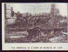 1927  --  VUE GENERALE DE L USINE DE MOREUIL EN 1920  T862