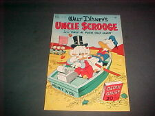 FOUR COLOR   #386  UNCLE SCROOGE  #1   8.5  VF+