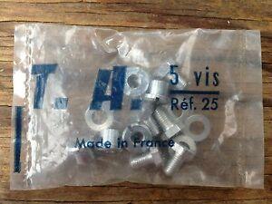 NOS Specialites T.A. TA 5 VIS Chainring Bolts Ref. 25 NIP Cyclotourist Crank set