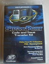 NEW SharkPort Code Save Memory Game saves Transfer kit PC for PS2 Playstation 2