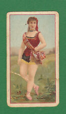 COPE  BROS.  &  CO.  LTD.  -  EXTREMELY  RARE  BEAUTIES  ' PAC '  CARD  -  1898